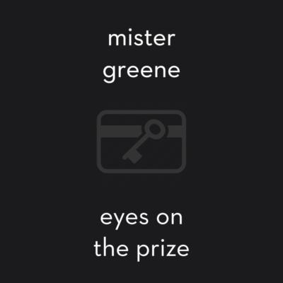 Album art by Mister Greene - Eyes On The Prize